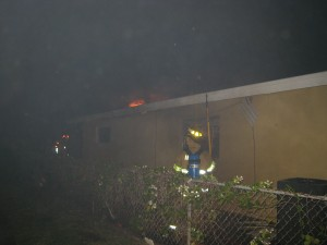 Sherwood Ave – April 2009, Mutual Aid for Satellite Beach FD.