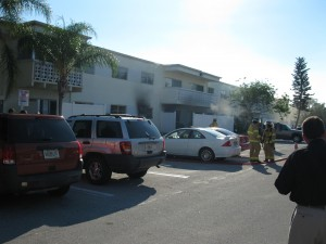 Dunes apartment fire 10/12/10