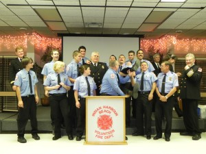 IHBVFD Promotes Two New Lieutenants at Awards Banquet.