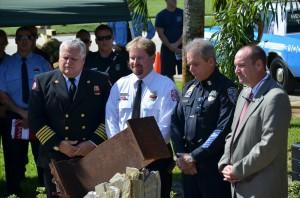 IHBVFD W.T.C. 9-11 Memorial Dedication.