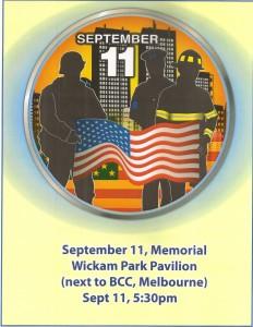 9-11 Memorial Observation 2012