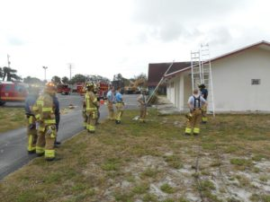 Ground ladder drill