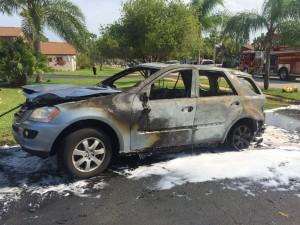 Vehicle Fire 7/1/15